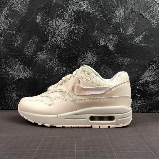 Womens 2019 Cheap Nike Air Max 1 Gets Oversized Jewel Swoosh Logos And Tongue Labels On VaporMaxRunning