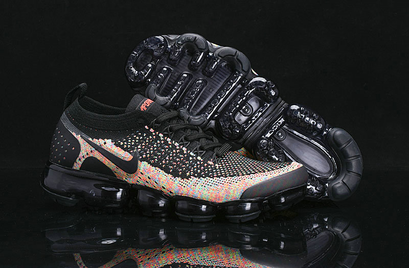 low priced 5946e c042b Womens Cheap Classic Multi-Color Appears On The Nike Vapormax Flyknit 2.0  On VaporMaxRunning
