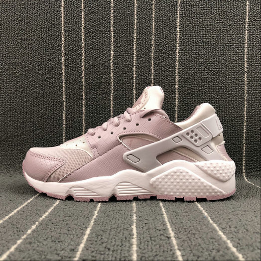 Womens Cheap NIKE Air Huarache Run SE 634835-029 Vast Grey Particle Rose Gris Infini Rose Particulei
