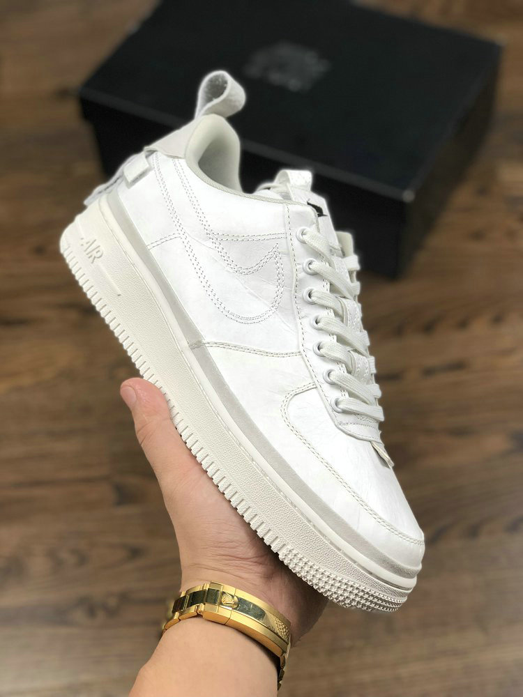 Womens Nike Air Force 1 07 AF1 Magic Stick x Air Force 1 VIP Triple White