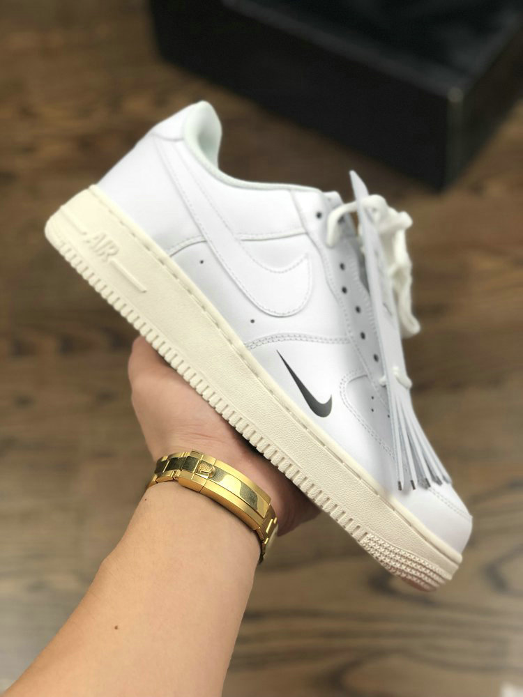 Womens Nike Air Force 1 PIET 315122-111 White Black