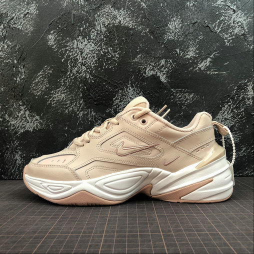 Cheap Womens Nike M2K Tekno AO3108-202 Particle Beige On VaporMaxRunning