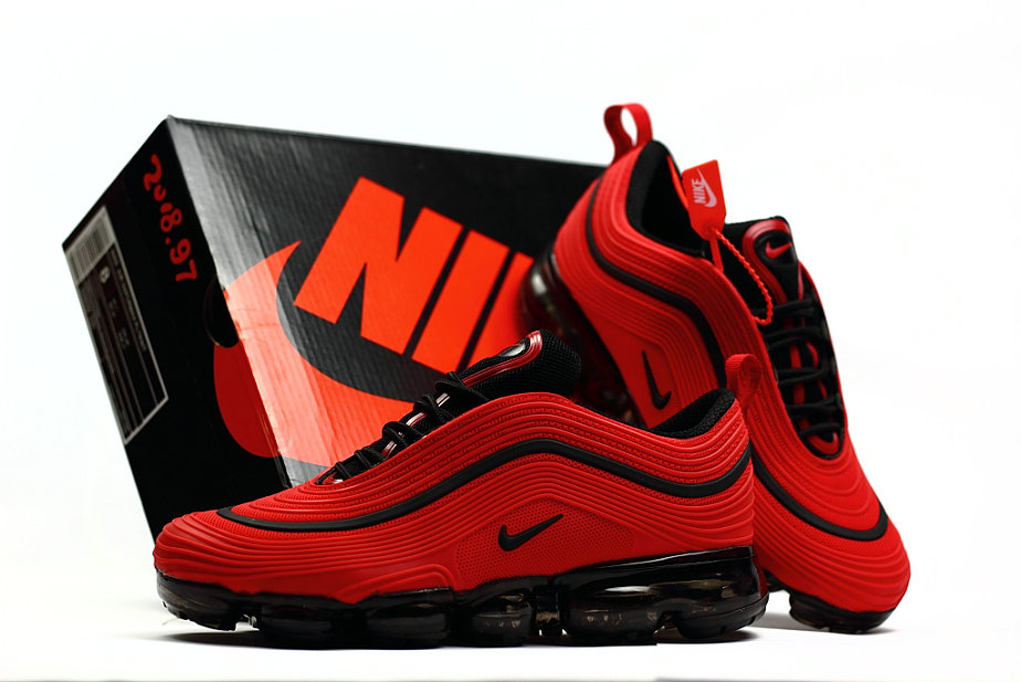new product 169f4 1bcfe 2018 Nike Air Max 97 Ultra VaporMax University Red Black On ...