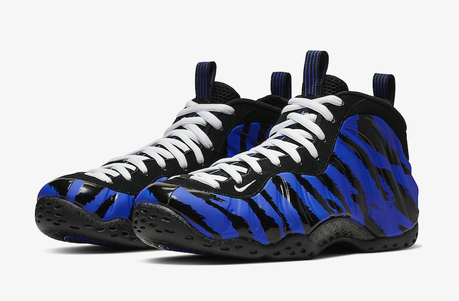 2019 Where To Buy Cheap Nike Air Foamposite One Memphis Tigers Stripes BV8161-400 On VaporMaxRunning