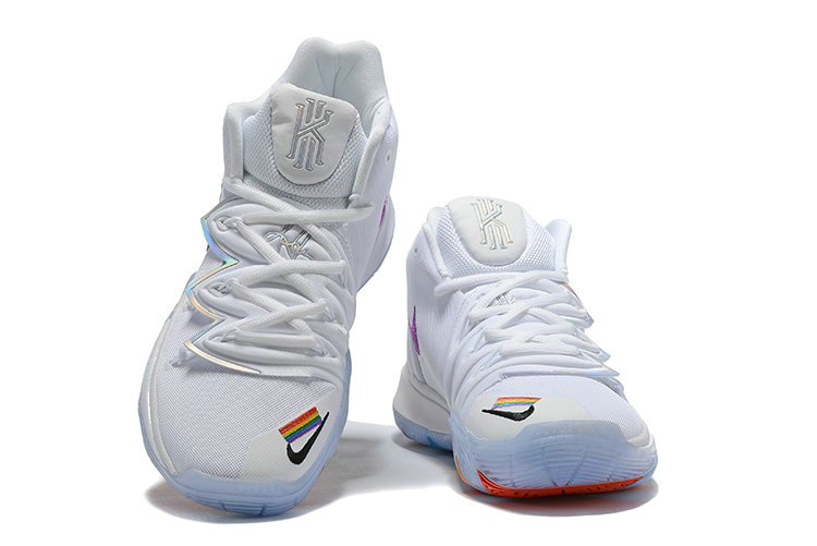 2019 Where To Buy Cheap Nike Kyrie 5 Be True White Multi-Color CH0521-117 On VaporMaxRunning