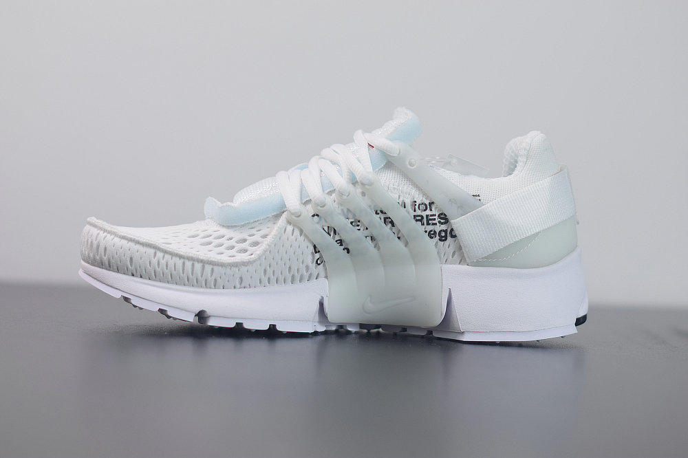 2020 Cheap Nike Air Presto 2.0 x Off-White ow White Black Cone Blanc Noir AA3830-100 On VaporMaxRunning