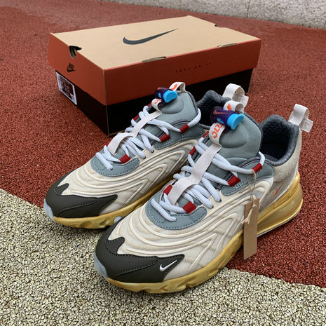 2020 Cheap Travis Scott Nike Air Max 270 React Cactus Trails CT2864-200 On VaporMaxRunning