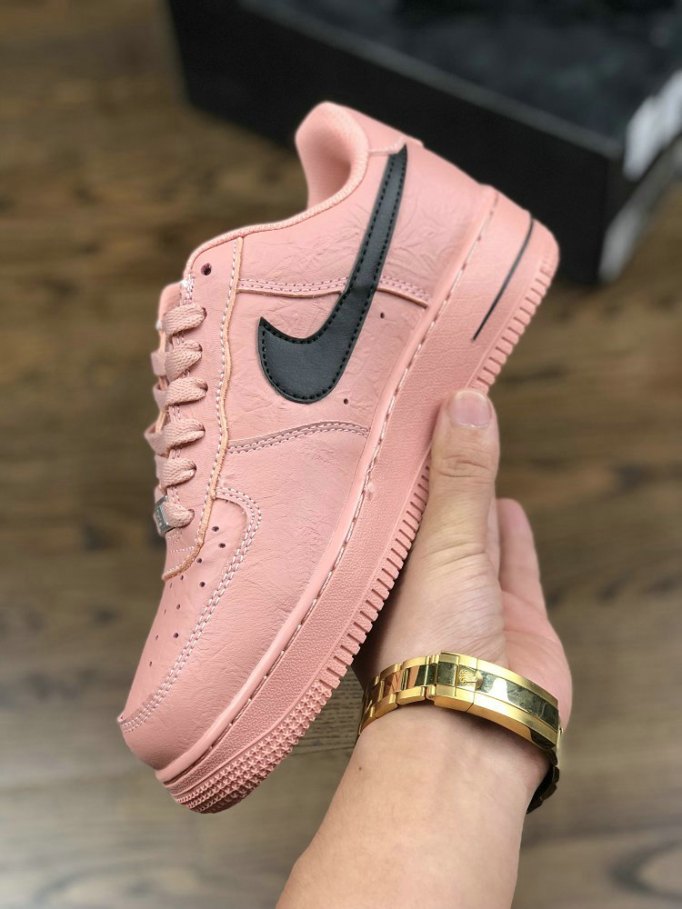 Air force 1 x Supreme x The North Face Rose Gold Black