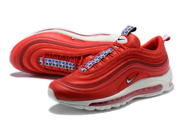 da67cdf8158 ... New 2018 Air Max Cheap x Nike Air Max 97 CR7 Portugal University Red  White- ...