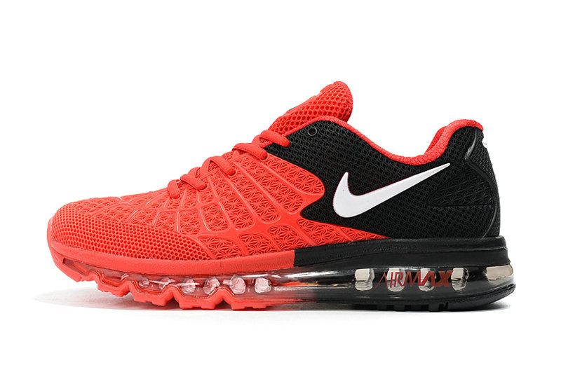 Cheap Newest Nike Air Max 2017 Mens Red Black White On VaporMaxRunning