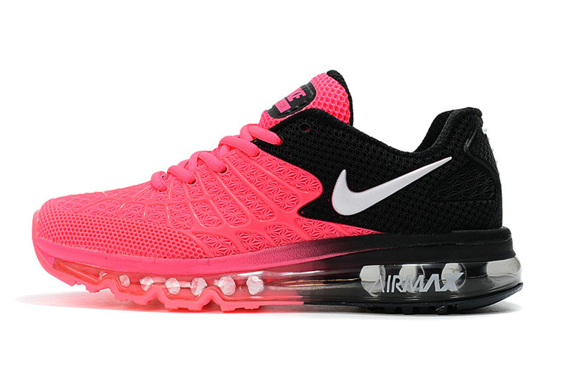 Cheap Newest Nike Air Max 2017 Womens Pink Black White On VaporMaxRunning