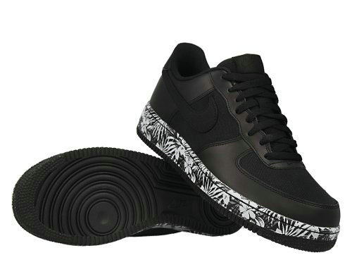 Cheap Nike Air Force 1 Low Womens Black White Grey On VaporMaxRunning