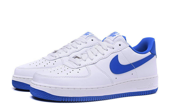 Cheap Nike Air Force 1 Retro Low Womens Blue White On VaporMaxRunning