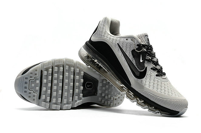 Cheap Nike Air Max 2017 Mens Rubber Patch Grey Black On VaporMaxRunning