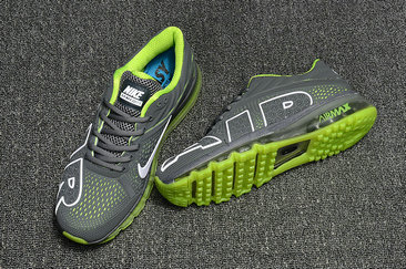 Cheap Nike Air Max Flair 2017 Mens Fluorescent Green Grey Sneakers On VaporMaxRunning