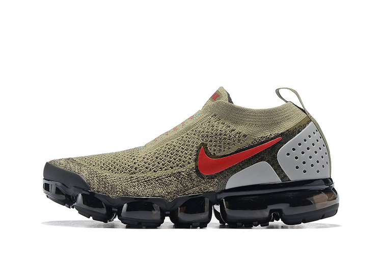 Cheap Nike Air VaporMax Flyknit 2.0  Shoes Red Brown Black