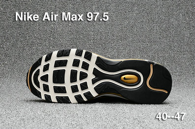 8e0ffa9ebd7c9d ... Cheap Sale Nike Air Max 97 Mens Yellow Black White On VaporMaxRunning  ...