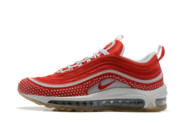 Cheap Sale Nike Air Max 97 Womens Red White On VaporMaxRunning