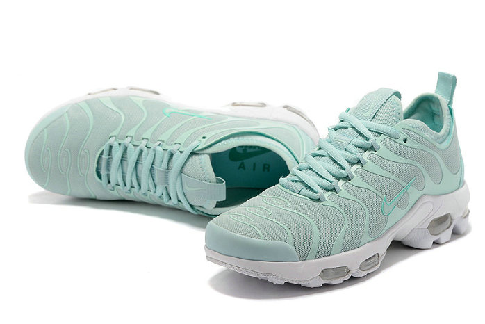 Cheap Sale Nike Air Max TN Ultra Womens Light Green White On VaporMaxRunning