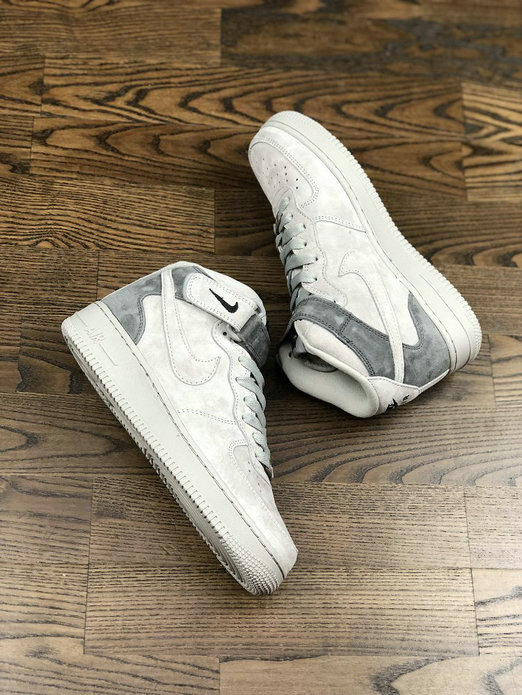 Nike Air Force1 Low x Reigning Champ Wolf Grey White