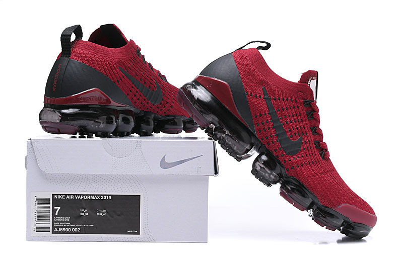 superior quality 54138 35fe4 ... Cheap Nike Air VaporMax 2019 Red Black On VaporMaxRunning