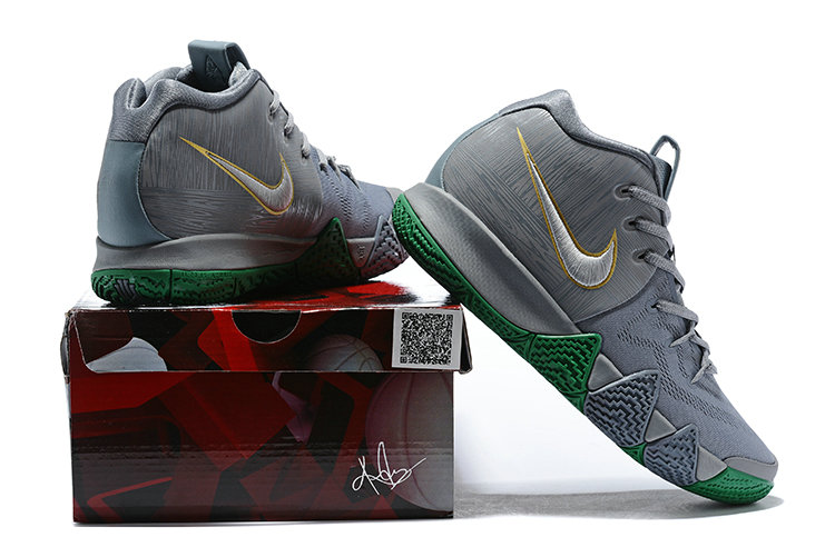c22b1003f7828 ... spain 2018 new kyrie shoes cheap nike kyrie 4 city of guardians silver  metallic gold light