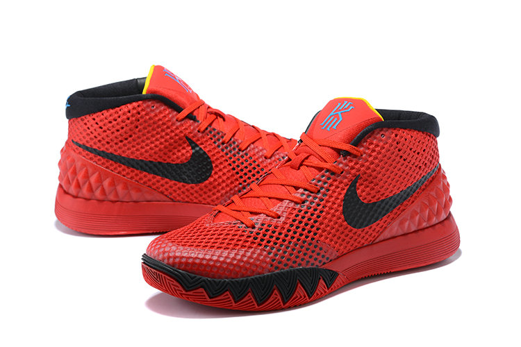 Nike Kyries Cheap Nike Kyrie 1 Deceptive Red Official Images On VaporMaxRunning