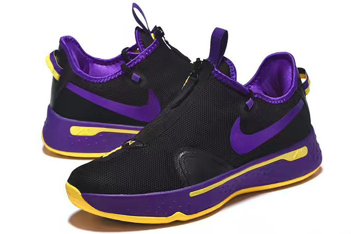 Where To Buy Nike PG 4 Black Purple-Yellow 2020 For Sale On VaporMaxRunning