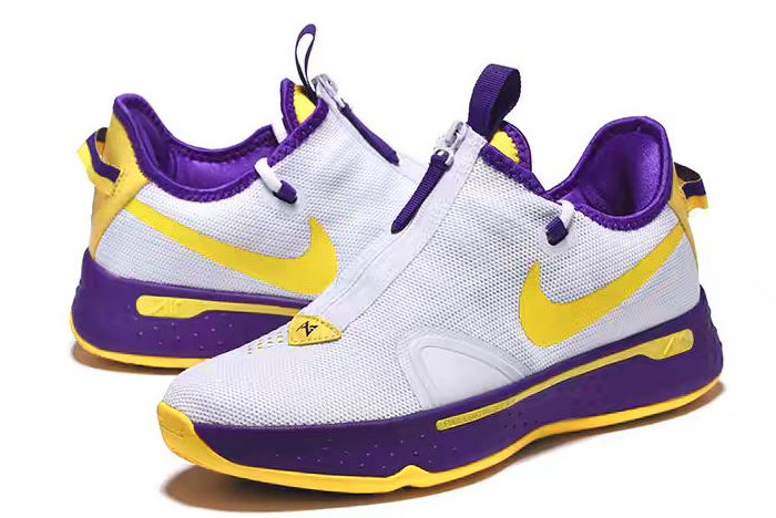 Where To Buy Nike PG 4 White Purple-Yellow 2020 For Sale On VaporMaxRunning