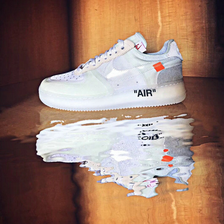 OFF-White x Air Force 1 low AO4606-100 Mens White