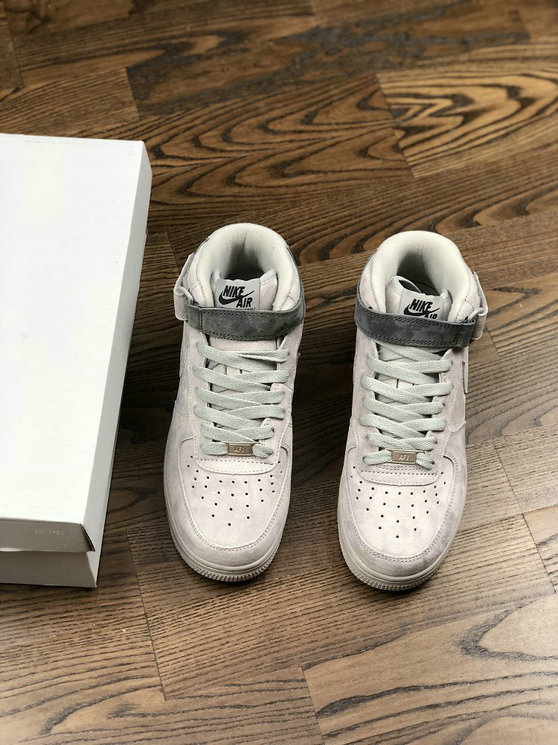 Womens Air Force1 Low x Reigning Champ Wolf Grey White